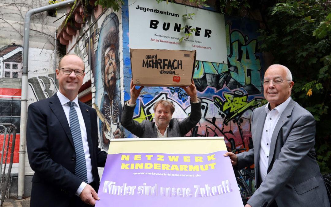 Netzwerk Kinderarmut knackt 50.000 EUR Marke